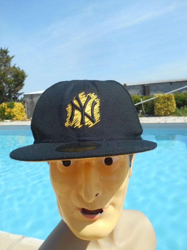 Casquette NY, marque New Era 59 Fifty, Genuine Merchandise, contient 100% laine, New York Cap Gorra Hat Baseball MLB New York