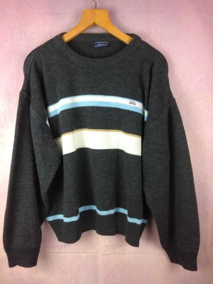 Pull EDEN PARK,Véritable vintage années 00, 35% laine, Oversize, Rugby Unisex Pullover