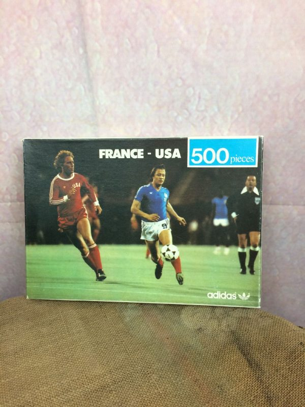 Puzzle FRANCE USA Adidas 1979 Incomplet Foot Gabba Vintage 2 - PuzzleFRANCE USA Adidas 1979 Incomplet Foot