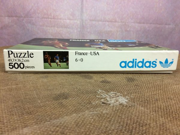 Puzzle FRANCE USA Adidas 1979 Incomplet Foot Gabba Vintage 4 - PuzzleFRANCE USA Adidas 1979 Incomplet Foot