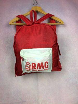 RMC Sac A Dos Vintage 90s Radio Monte Carlo Gabba Vintage 3 - Autres Articles Vintage global