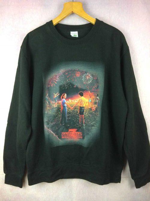 Sweat STRANGER THINGS, marque Awdish, Retro Vintage, Rare version, Unisex Sweater SweatShirt