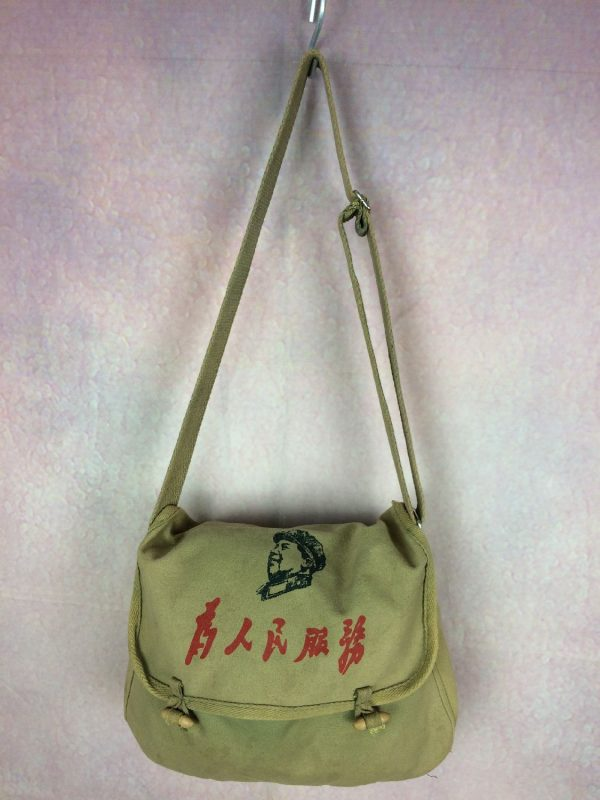 Sac MAO ZEDONG Vintage Besace Sacoche Chine Gabba Vintage 2 - Sac MAO ZEDONG Vintage Besace Sacoche Chine