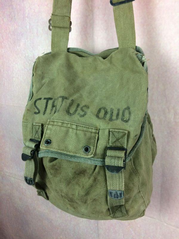 Sac US Army Vintage 60s Status Quo College Gabba Vintage 6 - Sac US Army Vintage 60s Status Quo College