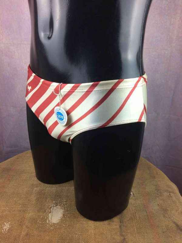 VINTAGE 80s Maillot Bain Made in France Neuf Gabba Vintage 3 resultat - Maillot de Bain homme vintage années 80s S XS
