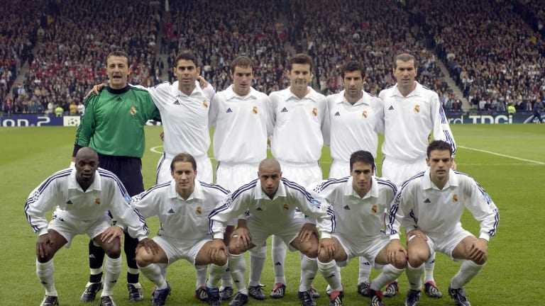 real madrid 2001 2002  equipe