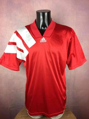 Maillot ADIDAS Equipment, Template 1991 1993, Made in Portugal, Véritable vintage Années 90s, Football Jersey Trikot