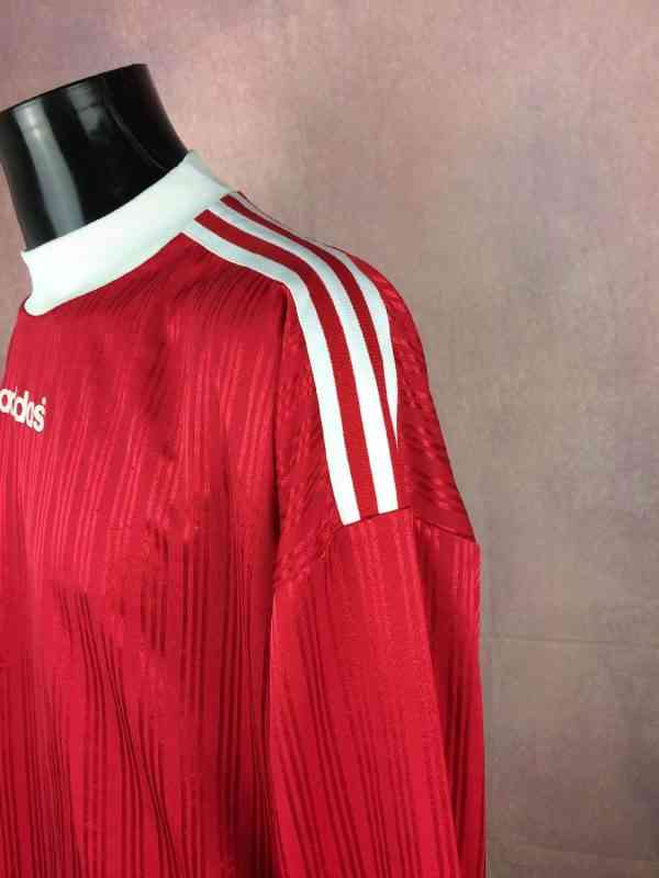 ADIDAS Maillot Vintage Annees 90s Made in Tunisia Manches.. 4 - ADIDAS Maillot Vintage Années 90s Made in Tunisia Manches longues Football
