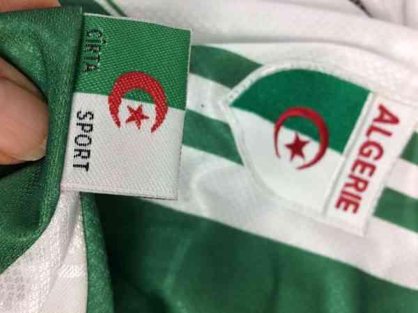 ALGERIE Maillot N°16 Vintage Annee 1999 Home Cirta Sport.. 1 - ALGERIE Maillot N°16 Vintage Année 1999 Home Cirta Sport Algérie Football