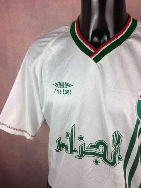ALGERIE Maillot N°16 Vintage Annee 1999 Home Cirta Sport.. 3 - ALGERIE Maillot N°16 Vintage Année 1999 Home Cirta Sport Algérie Football