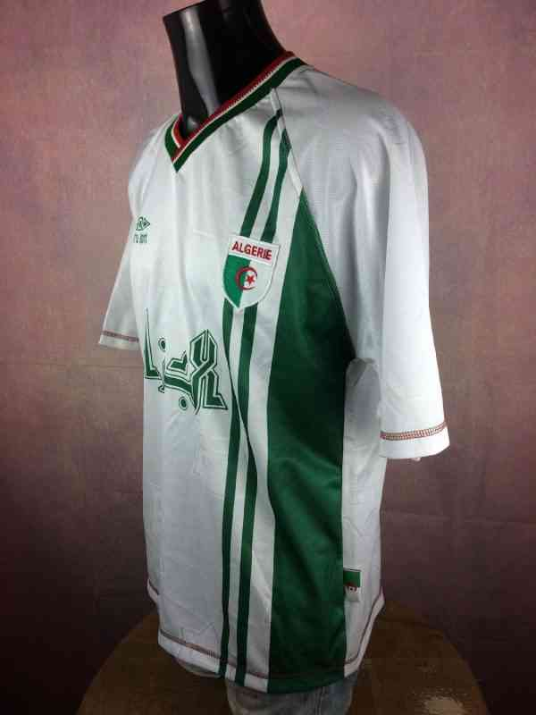 ALGERIE Maillot N°16 Vintage Annee 1999 Home Cirta Sport.. 4 - ALGERIE Maillot N°16 Vintage Année 1999 Home Cirta Sport Algérie Football