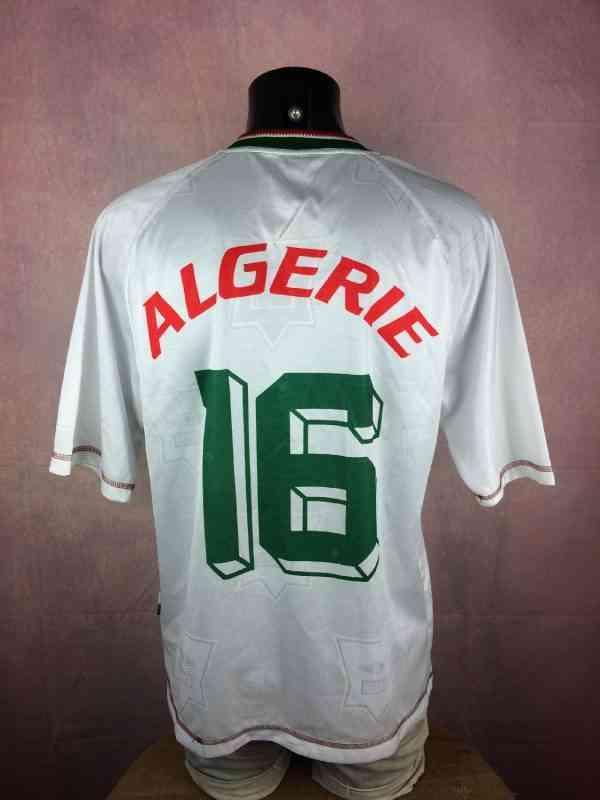 ALGERIE Maillot N°16 Vintage Annee 1999 Home Cirta Sport.. 5 - ALGERIE Maillot N°16 Vintage Année 1999 Home Cirta Sport Algérie Football