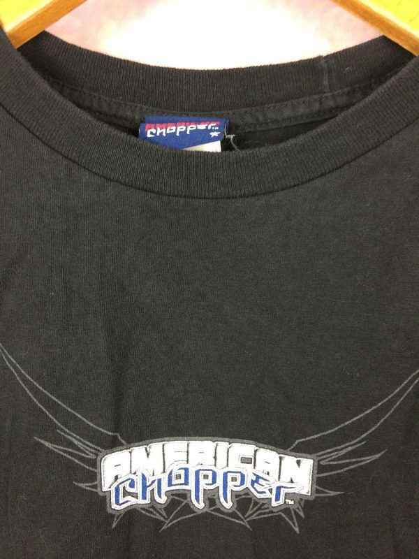 AMERICAN CHOPPER T Shirt Jet Bike Vintage 00s USA Gabba.. 3 - AMERICAN CHOPPER T-Shirt Jet Bike Vintage 00s USA