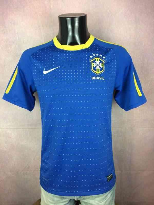 BRESIL Maillot 2010 2011 Away Nike Brazil CBF Selecao...