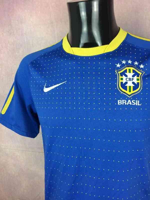BRESIL Maillot 2010 2011 Away Nike Brazil CBF Selecao.. 2 - BRESIL Maillot 2010 2011 Away Nike Brazil CBF Selecao Football