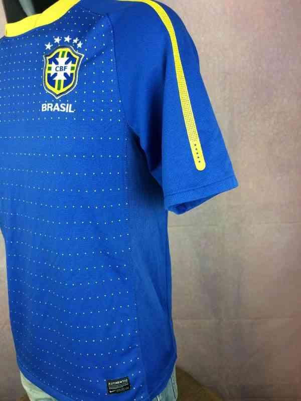 BRESIL Maillot 2010 2011 Away Nike Brazil CBF Selecao.. 3 - BRESIL Maillot 2010 2011 Away Nike Brazil CBF Selecao Football