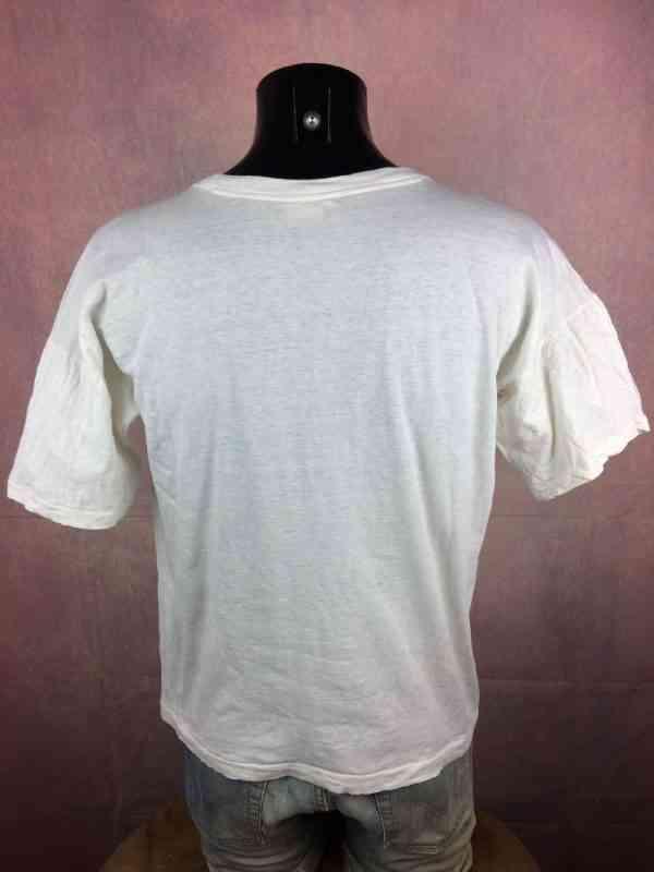 CHEZ ANTOINE Halte des Routiers T Shirt Port de Bouc.. 1 - CHEZ ANTOINE Halte des Routiers T Shirt Port de Bouc Vintage Année 80s France Publicité