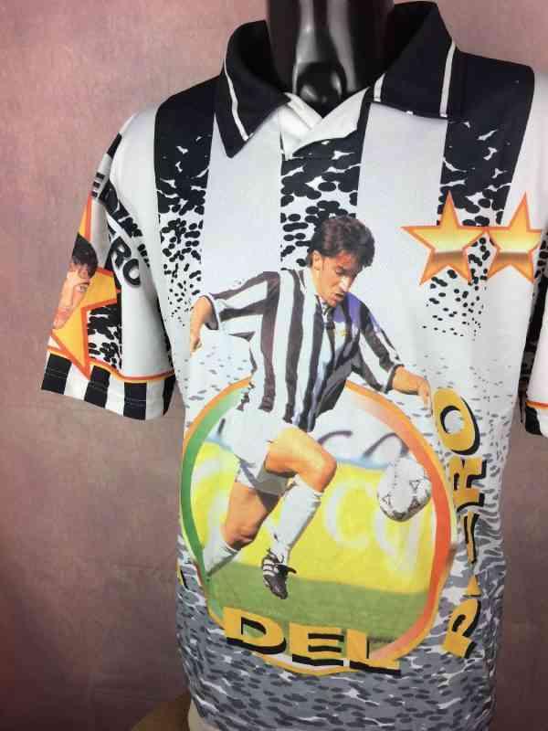DEL PIERO Maillot 10 Supporter Fan Vintage 90s Juventus.. 3 - DEL PIERO Maillot #10 Supporter Fan Vintage 90s Juventus Calcio Design Football