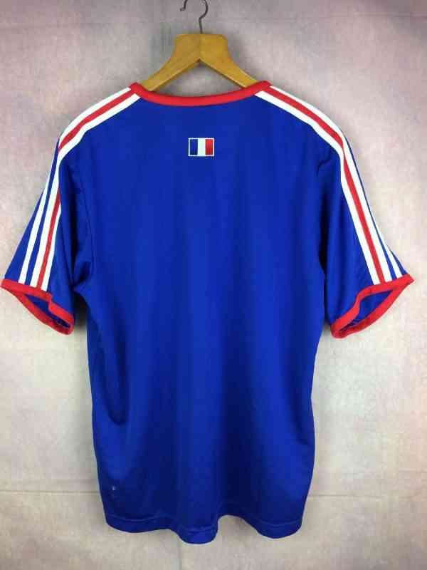 FRANCE Maillot Entrainement 2003 2004 Adidas Euro FFF.. 4 - FRANCE Maillot Entrainement 2003 2004 Adidas Euro FFF Football