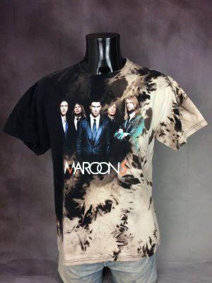 MAROON 5 T-Shirt Tour 2008 Tie Dye Licence Officielle
