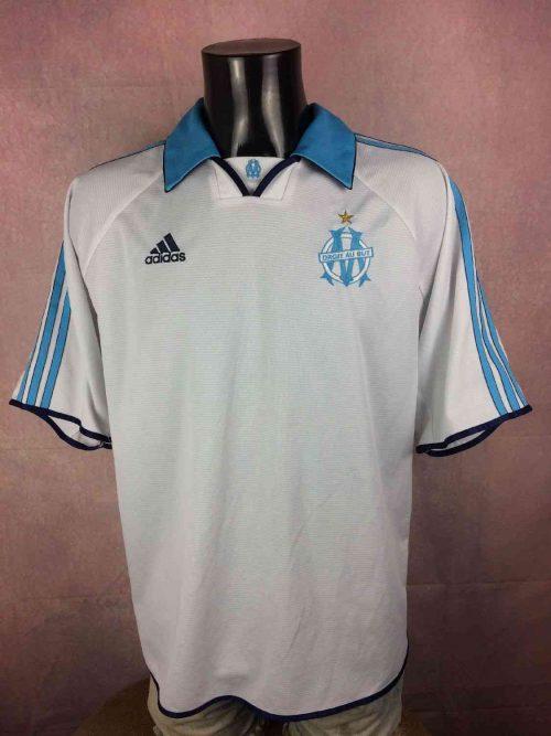Maillot MARSEILLE, Saison 1999 2000, Version Sans Sponsor, Marque Adidasdaté du 04/99, Finition Equipment, Made in Portugal, OM Ligue 1 France Jersey Trikot Camiseta