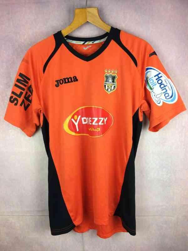 Maillot Entente Sportive de SETIF, Saison 2010, Marque Joma, Sponsors Djezzy, Slim Zeg, Hodna Lait, ES Algérie Jersey Trikot Camiseta
