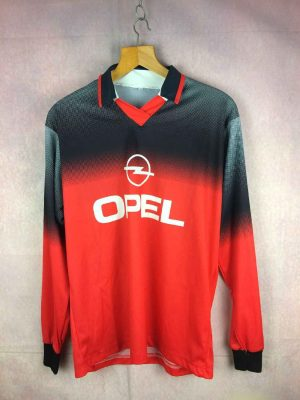 Maillot OPEL, Véritable vintage années 90, Manches Longues, Jersey Camiseta Trikot Football