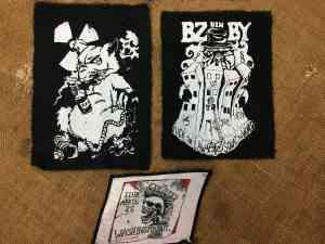 PATCH Punk Lot x5 The Exploited Dead Kennedys Police.. 3 - Autres Articles Vintage global