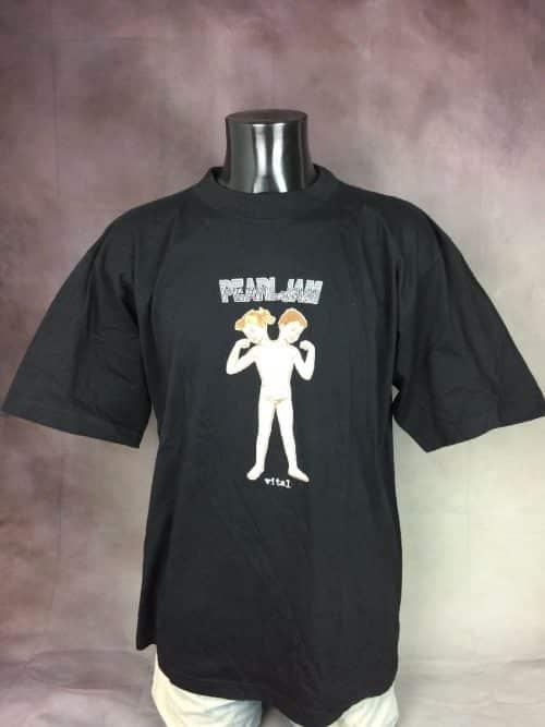 PEARL JAM T-Shirt Vital Circulation Tour 1995 Vintage