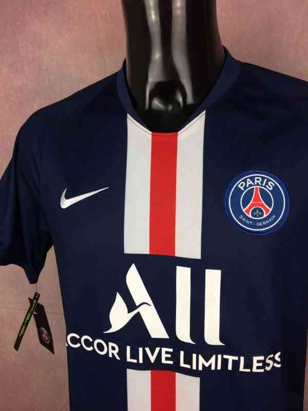 PSG Maillot 2019 2020 Home Nike Paris Saint Germain All.. 3 - PSG Maillot 2019 2020 Home Nike Paris Saint Germain All Neuf avec Etiquettes Football