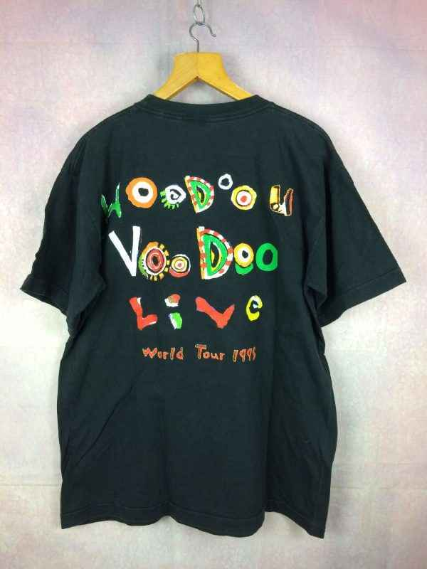 ROLLING STONES T Shirt Voodoo Lounge World Tour 95.. 1 - ROLLING STONES T-Shirt Voodoo Lounge World Tour 95 Vintage 90s
