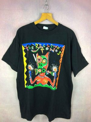 ROLLING STONES T Shirt Voodoo Lounge World Tour 95.. 2 - Home