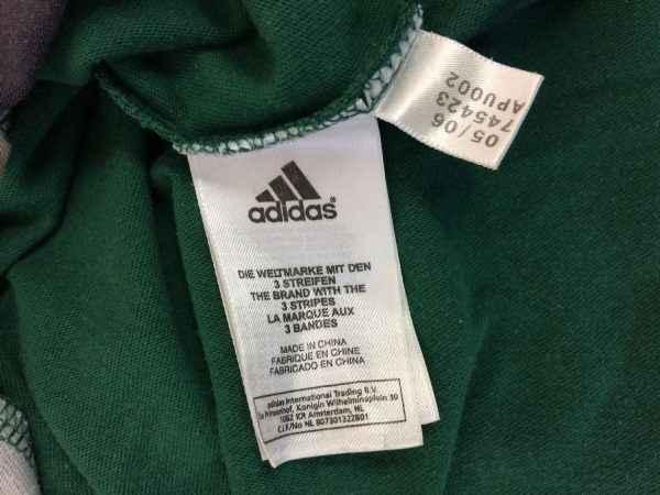 SAINT ETIENNE T Shirt 2006 2007 Adidas ASSE Football .. 1 rotated - SAINT ETIENNE T Shirt 2006 2007 Adidas ASSE Football