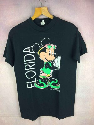 T Shirt MICKEY MOUSE, Marque Velva Sheen, édition Florida, Véritable vintage années 80s, Made in USA, Licence The Walt Disney Company, Fluo Surf T Shirt MICKEY MOUSE, Marque Velva Sheen, édition Florida, Véritable vintage années 80s, Made in USA, Licence The Walt Disney Company, Fluo Surf T Shirt MICKEY MOUSE, Marque Velva Sheen, édition Florida, Véritable vintage années 80s, Made in USA, Licence The Walt Disney Company, Fluo Surf