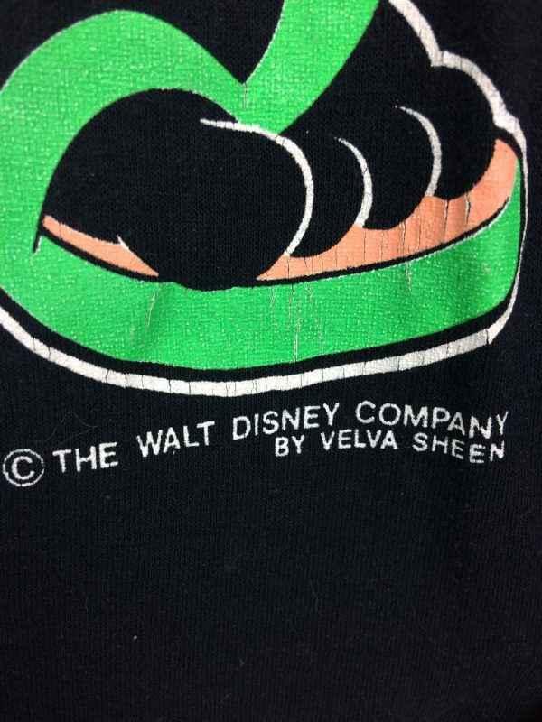 T Shirt MICKEY MOUSE Velva Sheen Florida Vintage annees.. 3 - T Shirt MICKEY MOUSE Velva Sheen Florida Vintage années 80s Made in USA Walt Disney