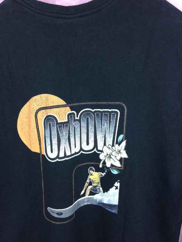 T Shirt OXBOW Annee 1997 Vintage Annees 90s Surf Longboard 6 - T Shirt OXBOW Année 1997 Vintage Années 90s Surf Longboard
