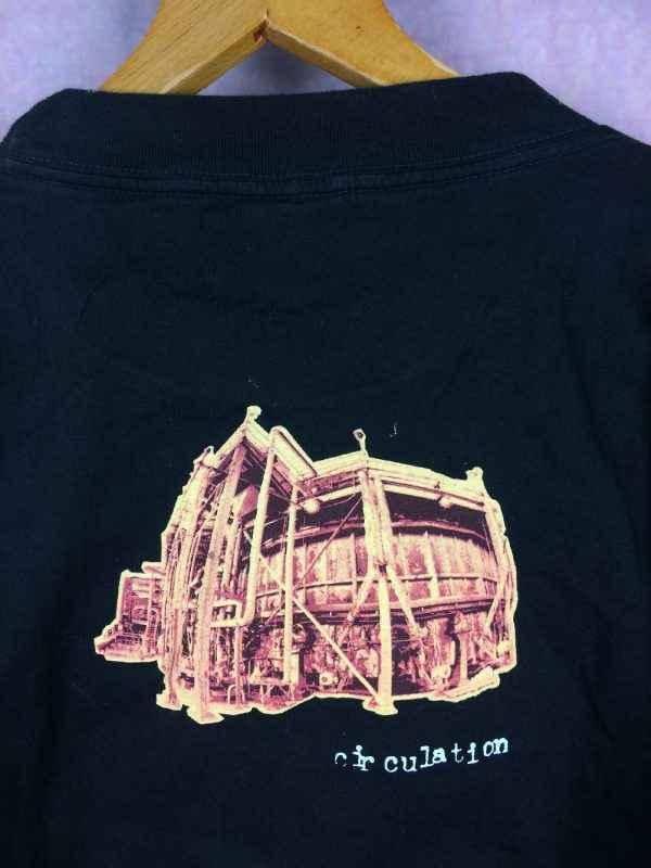 T Shirt PEARL JAM Vital Circulation Tour 1995 Vintage.. 1 - T-ShirtPEARL JAMVital Circulation Tour 1995 Vintage Licence Officielle Jamais Porte