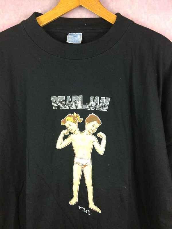 T Shirt PEARL JAM Vital Circulation Tour 1995 Vintage.. 3 - T-ShirtPEARL JAMVital Circulation Tour 1995 Vintage Licence Officielle Jamais Porte