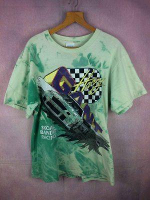 T-Shirt SKOAL BANDIT RACING, édition Harry Gant Chevrolet Lumina #33, Année 1993, Véritable Vintage années 90s, Tie Dye, Pur coton, Marque Classics, NASCAR USA