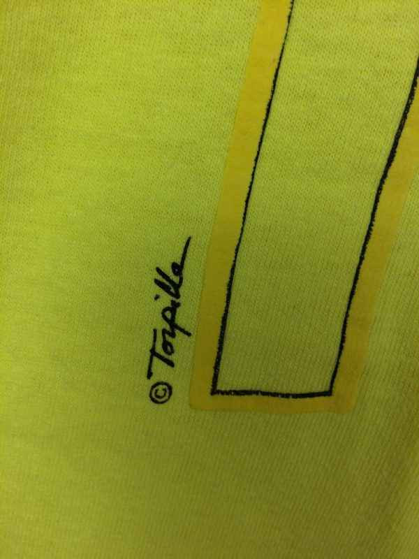 TENNIS T Shirt Vintage Annees 80s Hanes Made in USA .. 4 - TENNIS T Shirt Vintage Années 80s Hanes Made in USA