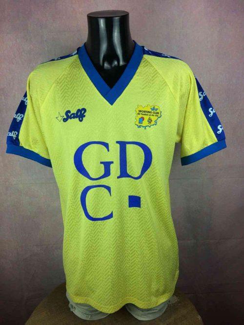 Maillot TOULON Sporting Club, N°13, Saison 1992 - 1993, Version Home, Marque Salf France Ligue 1