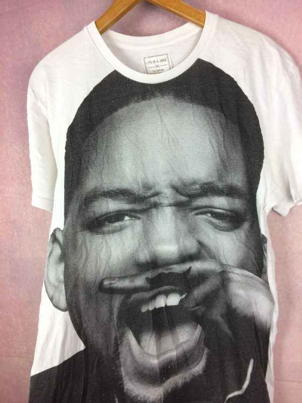 WILL SMITH T Shirt Eleven Paris Life Is A Joke Overprint 2 - WILL SMITH T-Shirt Eleven Paris Life Is A Joke Overprint