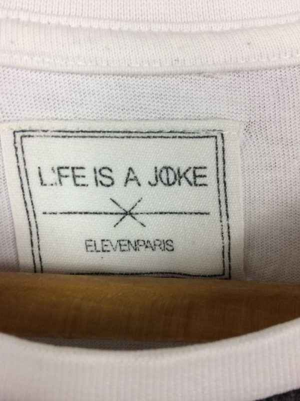 WILL SMITH T Shirt Eleven Paris Life Is A Joke Overprint 3 - WILL SMITH T-Shirt Eleven Paris Life Is A Joke Overprint