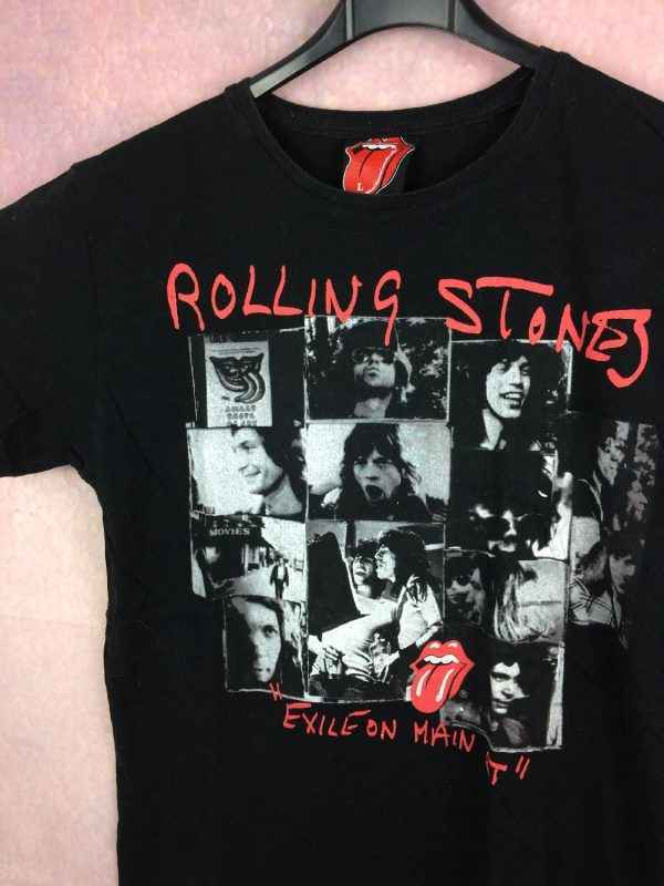 rolling stones t shirt exile on main st 3 - ROLLING STONES T-Shirt Exile on Main St Licence Officielle