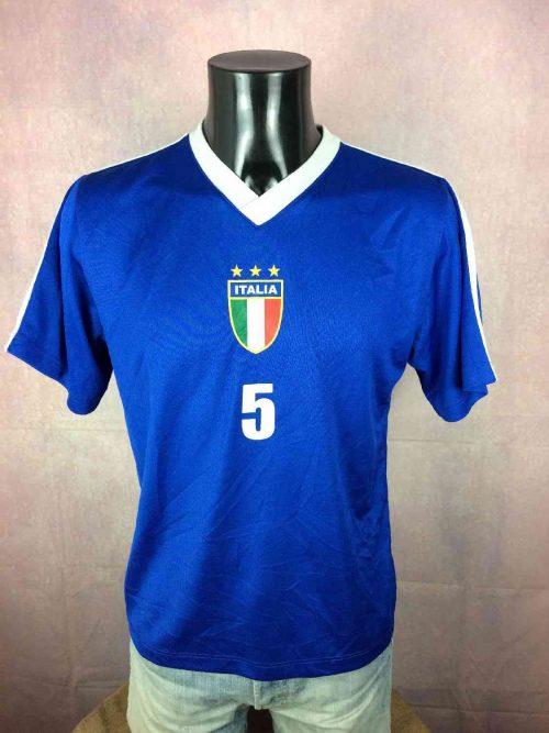 20. Maillot Italia 2006 World Cup Floqué Cannavaro N°5 Replica