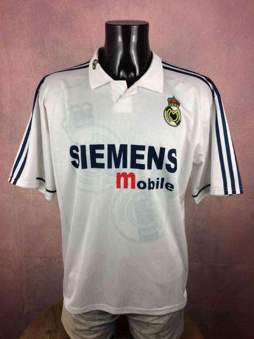 9. Maillot Real Madrid Beckham N°23 2002 - 2003 Home Replica (No Adidas)