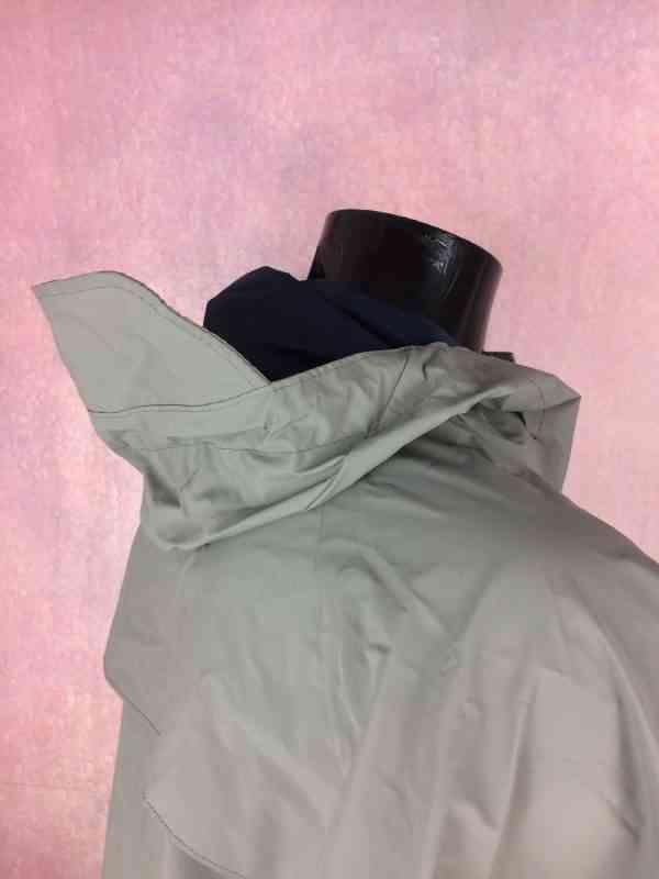 COLUMBIA Impermeable PVC Capuche avec visiere Multiples.. 6 - COLUMBIA Imperméable PVC Capuche avec visière Multiples serrages Aérations multiples protégées Poignets élastiques Marine Veste Unisex