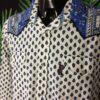 Chemise Provence ATELIER PROVENÇAL, Véritable vintage années 90, Fermeture par Boutons Nacres, Gardian Camargue Sud Feria Shirt Homme