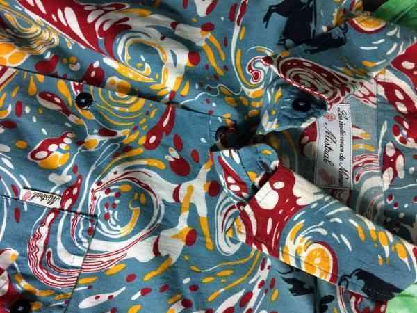 Chemise Provence MISTRAL Les Indiennes de Nimes Feria du Sud Ouest Vintage Annees 00 Gardian Camargue Sud Feria Homme 1 - Chemise Provence MISTRAL Les Indiennes de Nîmes Feria du Sud Ouest Vintage Années 00 Gardian Camargue Sud Feria Homme