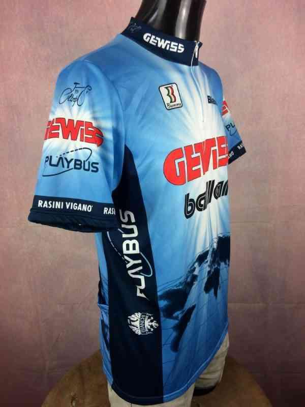 GEWISS BALLAN Team Maillot 1994 1995 Biemme 3 - GEWISS BALLAN Team Maillot 1994 1995 Biemme PlaybusBianchi Tour de France Cyclisme